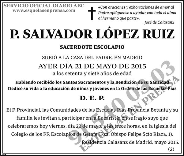 Salvador López Ruiz
